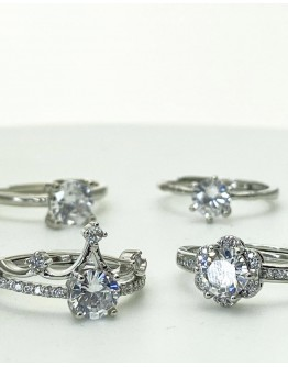 【GS】BUY 1 FREE 1 FREE SHIPPING 925SILVERY OPEN-END RINGS