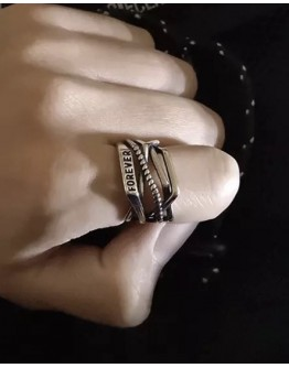 UNISEX FOREVER OPEN-END RINGS