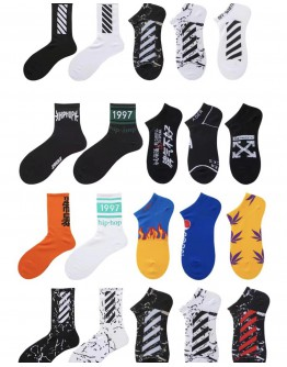 FREE SHIPPING UNISEX 35-44 SIZE 5 PAIRS ANKLE SOCKS