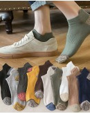 FREE SHIPPING MENS FREE SIZE ANKLE 10 PAIRS SOCKS