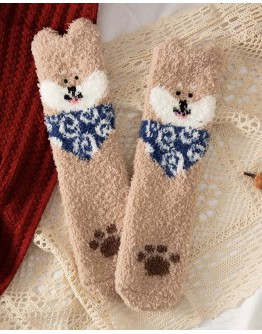 FREE SHIPPING CHRISTMAS CARTON SOCKS BUY 2 FREE 1