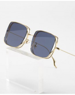 FREE SHIPPING UNISEX CUT-OUT SQUARE SUNGLASSES
