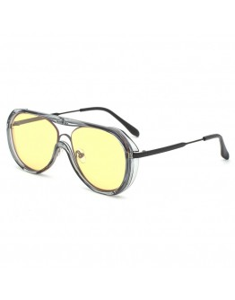 FREE SHIPPING CUT-OUT AVIATOR SUNGLASSES