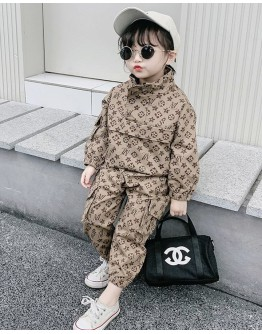 FREE SHIPPING KID LONG-SLEEVED TOPS + TROUSERS