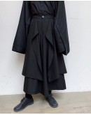 FREE SHIPPING MENS ASYMMETRICAL LOOSE TROUSERS