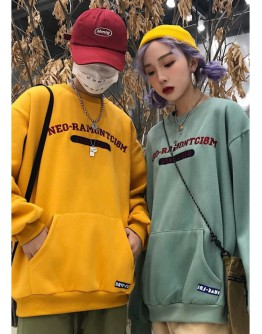 【GS】FREE SHIPPING UNISEX EMBROIDER SWEATER