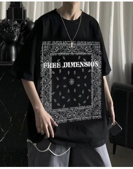 FREE SHIPPING MENS FREE DIMENSION CASHEW TOPS