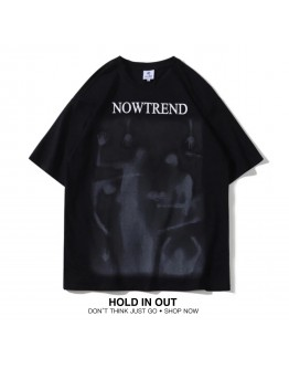 FREE SHIPPING UNISEX NOWTREND PRINT TOPS