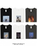 FREE SHIPPING MENS 100% COTTON ASTRONAUT LONG-SLEEVED TOPS