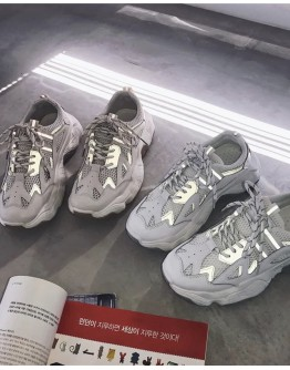 MENS 3M REFLECT CLUNKY SNEAKERS
