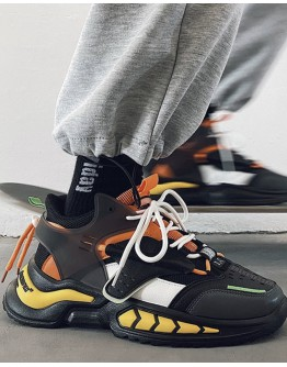 MENS I,C LACE-UP SNEAKERS