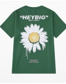 UNISEX FREE SHIPPING HAYBIG DAISY PRINT TOPS