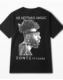 UNISEX FREE SHIPPING ZONTZ PRINT TOPS