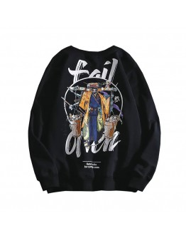 UNISEX FAIL PRINT THIN SWEATER