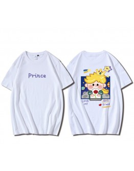 FREE SHIPPING UNISEX PRINCE & PRINCESS BASIC TOPS