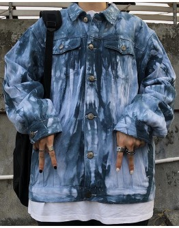 UNISEX DENIM GRADUAL JACKET