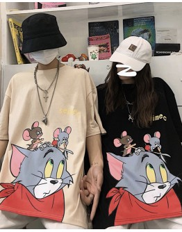 UNISEX TOM & JERRY SEIMEC PLUS TOPS