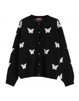 FREE SHIPPING UNUSEX BUTTERFLY KNITTED JACKETS