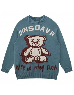 FREE SHIPPING UNISEX KNITTED BEAR DINSOAVR SWEATER