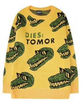 FREE SHIPPING UNISEX CROCODILE TOMOR KNITTED SWEATER