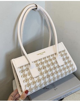 【WHB】CHECKED LONG HANDBAGS