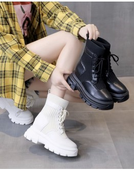 【WHOLESALE】LADIES INCREASED INTERNAL SOCKS BOOTIES