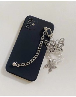 FREE SHIPPING BUTTERFLY CHAIN CASE FOR IPHONE