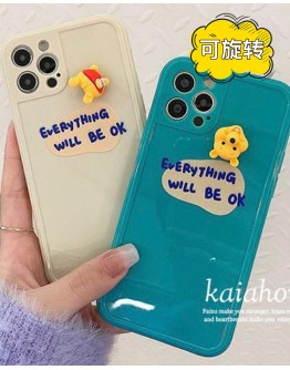 FREE SHIPPING WINNIE THE POOH EVERYTHING WILL BE OK CASE FOR IPHONE
