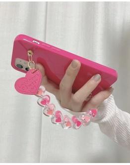 FREE SHIPPING SWEET HEART CHAIN CASE FOR IPHONE
