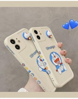 FREE SHIPPING DORAEMON APRICOT CASE FOR IPHONE