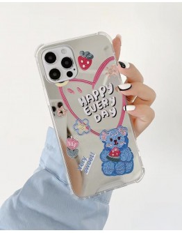 FREE SHIPPING HAPPY EVERY DAY BEAR LOVE CASE FOR IPHONE
