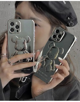 FREE SHIPPING XX BEAR SEEING TPU CASE FOR IPHONE