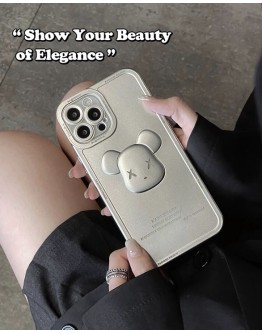 FREE SHIPPING XX BEAR TPU CASE FOR IPHONE