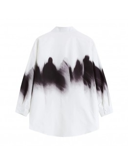 FREE SHIPPING UNISEX TIE-DYED LONG-SLEEVED SHIRT
