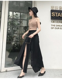 FREE SHIPPING LADIES CAMISOLE VEST / SLIPT PANTS
