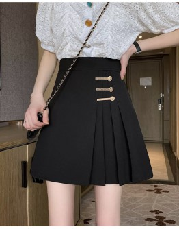 FREE SHIPPING LADIES METAL PINS PLUS PLEATED SKIRT