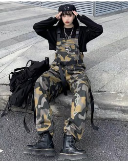 FREE SHIPPING LADIES CAMOUFLAGE BATMAN JUMPSUIT