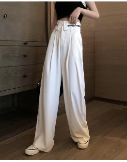 FREE SHIPPING LADIES LOOSE POLYESTER TROUSERS