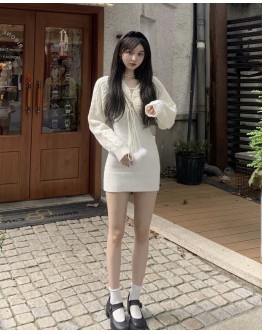 FREE SHIPPING LADIES CAMISOLE DRESS / CAMISOLE VEST / KNITTED SHORT JACKET