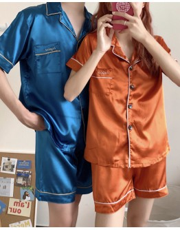 UNISEX VISCOSE PAJAMAS SHIRT + SHORTS