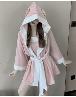 HOODIE PAJAMAS OUTER WEAR / CAMISOLE TOPS