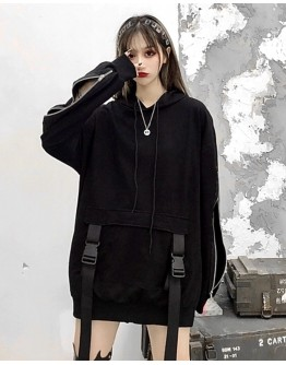FREE SHIPPING LADIES ZIPPER TIE-BELT PATTERED SWEATER