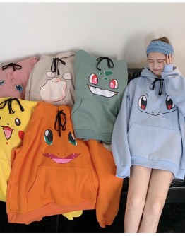 FREE SHIPPING LADIES POKÉMON HOODIE SWEATER
