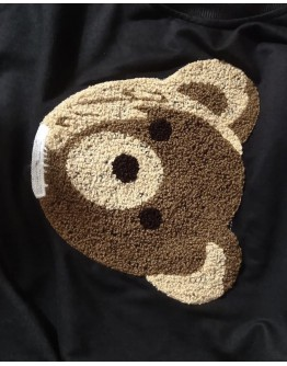 FREE SHIPPING LADIES BEAR PLUS SWEATER