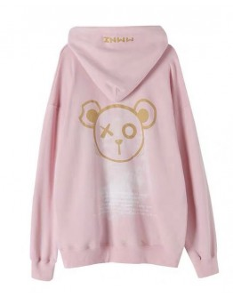 FREE SHIPPING LADIES BEAR MMNZ HOODIE SWEATER