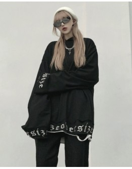 FREE SHIPPING LADIES EMBRODIER HOODIE LOOSE SWEATER