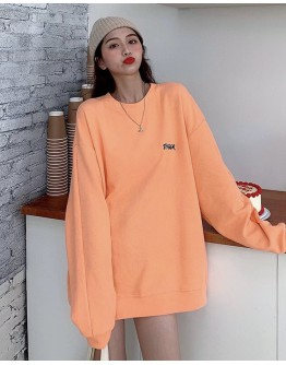 FREE SHIPPING LADIES LOOSE BASIC SWEATER