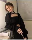 FREE SHIPPING LONG-SLEEVED TOPS + TUBE