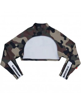 FREE SHIPPING LADIES CAMOUFLAGE LONG-SLEEVED OUTWEAR