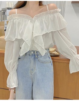 FREE SHIPPING CAMISOLE SHORT TOPS